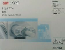 3M ESPE Imprint 4 Bite Dental Registration Material 50 ml Cartridge VPS 71529