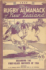 Rugby almanack of new zealand book 1955 all blacks rugby annuel