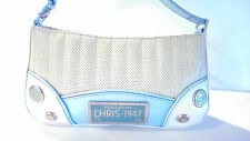 AUTHENTIC Christain Dior  Montaigne 1947 License Plate Bag Handbag Purse