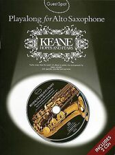 Guest Spot KEANE Hopes and Fears Alto Saxophone Book CD
