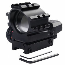 New Red Green Dot Reflex Sight Scope Tactical Holographic 4 Reticles Projected