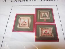 New JBW DESIGNS NEEDLEPOINT CHRISTMAS PATTERN PROJECT SAMPLER ANGEL TREE HOUSE