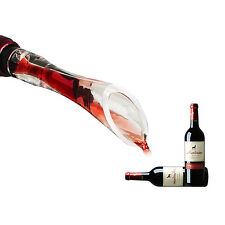 Plastic Rubber Red Wine Aerator Bottle Pourer Decanter White Travel Air Party
