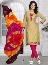 Radiant Cotton Embroidered Salwar Suit Dress Material D.NO JIO4007