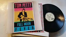 tom petty full moon fever heartbreakers lp '89 orig with lyric & the rare oop !!
