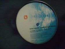 """DAVE RALPH - LOVE PARADE: BERLIN 12"""" 2 TRACK PROMO, EX COND (Kinetic Records)"""