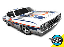 Hot Wheels Cars - '69 Ford Torino Talladega White