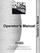 Massey Ferguson 3050 3060 3065 3070 3080 3095 Tractor Operators Manual