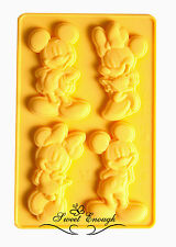 Mickey Minnie Mouse Disney Silicone moule Sugarcraft chocolate cup cake mold