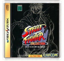 STREET FIGHTER COLLECTION SEGA SATURN FRIDGE MAGNET IMAN NEVERA
