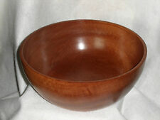 Lovely Deep & Unique Hand Crafted Curvey Fruit Bowl Made from Exotic Sapele Wood
