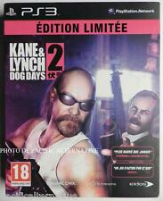 OCCASION Coffret jeu KANE & LYNCH 2 DOG DAYS playstation 3 PS3 francais action