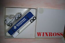 1988 Leaseway Transportation Cavvas Load Winross Diecast Flat Bed Trailer Truck