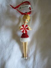 Disney Parks Tinker Bell Holding Peppermint Candy Ornament