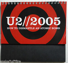 U2 OFFICIAL MINI CALENDAR 2005 HOW TO DISMANTLE AN ATOMIC BOMB