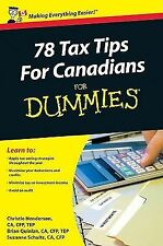 78 Tax Tips For Canadians For Dummies (For Dummies (Business & Personal Finance)