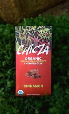 Chicza: Organic Rainforest Chewing Gum - 10 Packs (80 pieces) - Cinnamon