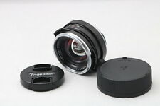 【Excellent+++】Voigtlander Nokton Classic 35mm F1.4 MC Lens from Japan 127356
