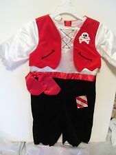 CHILD TODDLER 18 MTS PIRATE  KOALA KIDS TRICK OR TREAT HALLOWEEN COSTUME