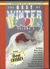 THE BEST OF WINTER BLOOPERS VOLUME 3 DVD - DIRT SKIING, SLEDDING - Warren Miller