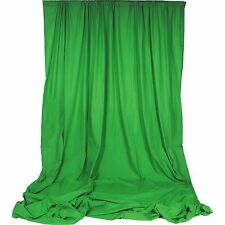Chromakey Green Premium Solid Muslin Backdrop 10' x 24' Backdrop Alley