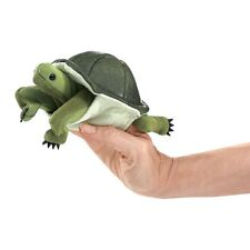 Turtle Finger Puppets with Moveable Head & Legs, Folkmanis MPN 2732, 3 & Up