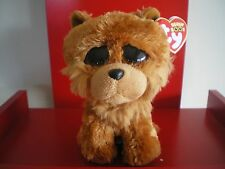Ty Beanie Boo BARLEY the dog  6 inch NWMT.  JUST ARRIVED – LIMITED QUANTITY