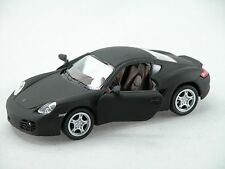 Kinsmart Porsche Cayman S (Matte Black) 1:34 Die Cast Metal Collectable Car
