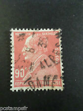 FRANCE 1927, timbre 243, MARCELIN BERTHELOT, oblitéré, CELEBRITY, VF used STAMP