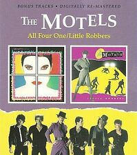 All Four One/Little Robbers by The Motels (CD, May-2009, 2 Discs, Beat Goes On)