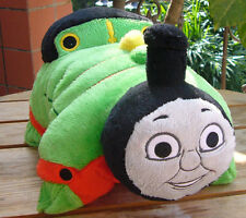 "THOMAS TANK ENGINE FRIENDS PERCY~ Pillow Pee wee Pets 12"" Plush Pillow no tags"