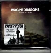 "IMAGINE DRAGONS ""Night Visions"" 11 + 5 Bonus  Track CD Deluxe Version"