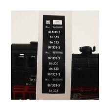 0040 Lokschilder BR 56 2916-7 / BR 56 2916 DR H0