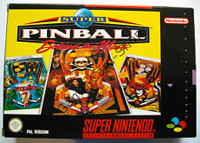 SNES-Super Pinball-Behind the Mask-pal-parte. + módulo + anltg.