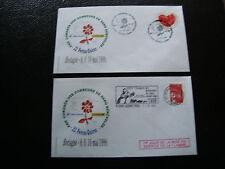 FRANCE - 2 enveloppes 1999 (bretagne) (cy50) french