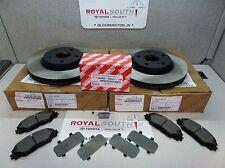 Toyota Rav4 V6 Front Brake Pad & Front Rotors Set Genuine OE OEM