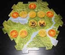 LEGO Bionicle Quest for Makuta Board Game Interlocking Mata Nui Board