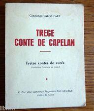 Libre en Oc OccitanTREGE CONTE DE CAPELAN Escrich de  parlat d'Arles et de Nîmes