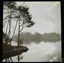 ATMOSPHERIC Glass Magic Lantern Slide NOVEMBER AFTERNOON C1910