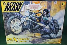 """Rare Original 12"""" Inch  Action Man Dr.X Chopper MIB 1997"""