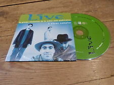 LIVE - SAMPLER THROWING COPPER !!!!!!!RARE FRENCH PROMO CD!!