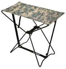 ACU Camo Lightweight Portable Chair Folding Camp Stool Camping Rothco 4545
