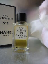 CHANEL No5 VINTAGE 1980s EDT 4ml MINIATURE Nr MINT SMELLS SUPERB & CAN GIFT WRAP