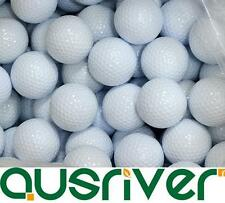 100 Brand New White GOLF practise BALLS Great For Training with no marks