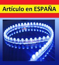 AZUL Luces LED WATERPROOF acuario 24cm tira luz pecera flexible 12V coche sumerg