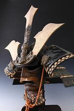 Antique Japanese Samurai Helmet  -Kusunoki Masashige- Showa Rare Product