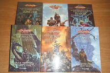 PRELUDIOS DE LA DRAGONLANCE COMPLETA, 6 LIBROS, TIMUN MAS EN RUSTICA.