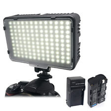 Mcoplus Studio Video Light for Canon Nikon LED Lamp + NP-F550 Battery & Charger
