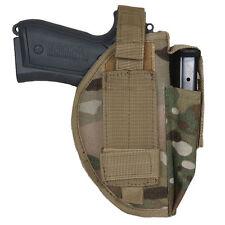 NEW - Tactical Military Ambidextrous Belt Gun Pistol Holster - GENUINE MULTICAM