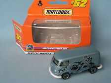 Matchbox 1967 Volkswagon VW Delivery Van TNT Dirt Bike livery Boxed Toy Car